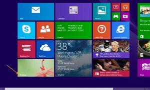 So zeigen Sie Ihr Windows 8 Desktop an